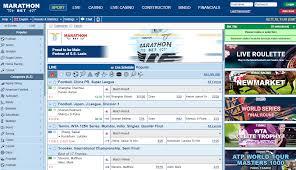marathonbet website